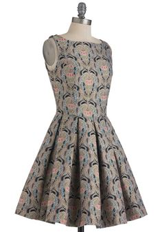 Classic Stunner Dress in Brocade, #ModCloth $100