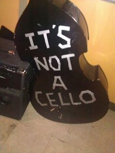 "I need to do this to my school instrument so people stop saying ""wow that's a big cello!"""