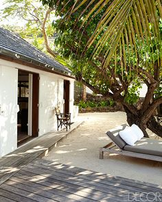 Christian Liaigre's St. Barts Home - Homes In St. Barts - ELLE DECOR
