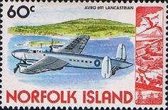 Norfolk Island 1980 Airplanes Fine Mint SG 247 Scott 266 Other Norfolk Island Stamps HERE