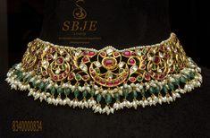 Kundan Jewellery Set, Indian Jewelry Earrings, Indian Wedding Jewelry, South Indian Jewellery, India Jewelry, Bridal Jewelry, Kundan Set, Choker Necklaces, Necklace Set