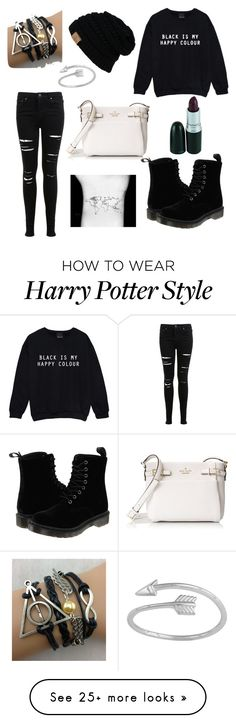 """""""For Emily"""" by clemony on Polyvore featuring Miss Selfridge, Kate Spade and Dr. Martens"""