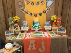 safari baby boy Baby Shower Party Ideas | Photo 1 of 12 | Catch My Party