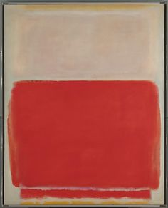 Mark Rothko No. 3. 1953 Oil on canvas 68 x 54 1/4 in. (172.7 x 137.8 cm)