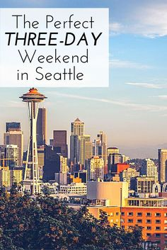 The Perfect Three-Day Weekend in Seattle As part of a new series, Travel + Leisure is exploring America one three-day weekend at a time. Here's what to do on a short trip to Seattle. Weekend Humor, Weekend Trips, Weekend Getaways, Weekend Fun, Oh The Places You'll Go, Places To Travel, Travel Destinations, Places To Visit, Seattle Vacation