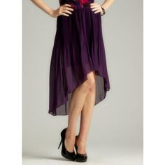 Purple L Romeo   love skirts like this!