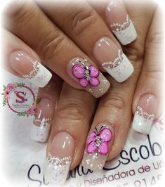 Finger, Pretty Nail Art, Manicure And Pedicure, Nail Art Designs, Acrylic Nails, Lily, Make Up, Beauty, Wedding Accessories