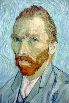 Dutch painter, Vincent Van Gogh was born Mar. 30, 1853. Here, his self portrait.