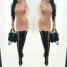 Lux Gold Velvet Dress