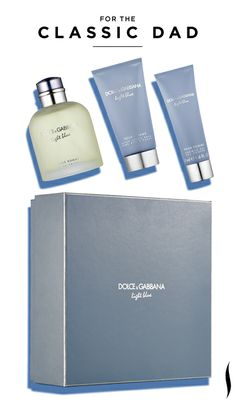 Father's Day Gift Inspiration: Dolce & Gabbana Light Blue Pour Homme Destination Trio #Sephora #FathersDay #Gifts #GiftIdeas