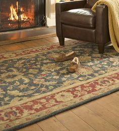 Elizabeth Floral Wool Rug, 2' x 3' | Collection Accessories
