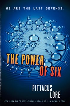The power of six second book to I am number four