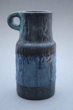 Karlsruher Majolika vase designed by Fridegart by RetroMinded