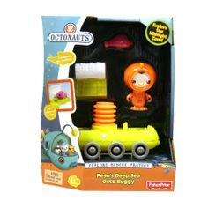 Amazon.com: Fisher Price Octonauts Peso's Deep Sea Buggy: Toys & Games