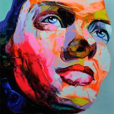Art street art Amazing art on elevator floor Art And Illustration, 3d Art, Art Design, Painting & Drawing, Knife Painting, Painting Canvas, Painting Portraits, Painting Inspiration, Female Art