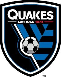 San Jose Earthquakes of the USA logos.
