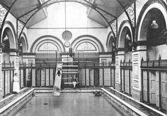 Soho's Marshall Street Baths 1910