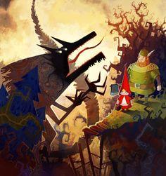 Красная Шапочка иллюстрации - Google Search