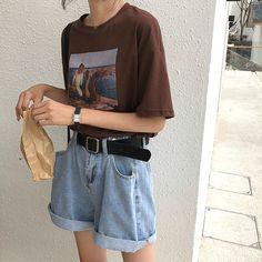 Clothing ideas for spring korean fashion 088 Fashion Moda, 90s Fashion, Love Fashion, Korean Fashion, Fashion Outfits, Fashion Weeks, Paris Fashion, Vintage Outfits, Vintage Fashion
