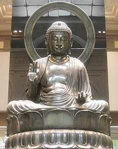 Cernucshi Museum (visited in 2008) -- Paris, 8th Arr. -- near Parc Monceau -- statue: Amida Buddha