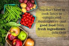 food quotes julia child - Google Search @www.aponderingmind.org