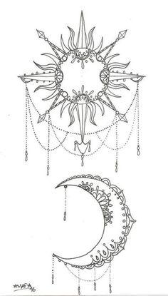 Sonne und Mond Tattoo by MAFcartoons on DeviantArt - tats - Sun and moon tattoo by MAFcartoons on DeviantArt - tats - . Tattoo tattoobi Tattoo Sonne und Mond Tattoo by MAFcartoons on Dev Moon Sun Tattoo, Sun Tattoos, Body Art Tattoos, Small Tattoos, Sleeve Tattoos, Henna Moon, Tatoos, Sun And Moon Tattos, Medium Tattoos