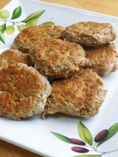 These spicy turkey sausage patties are low in sodium, low in fat, and packed with flavor.