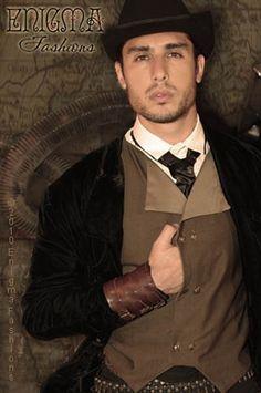 Men in Steampunk are sexy! fashion