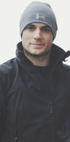 Henry Cavill - so adorable in this hat