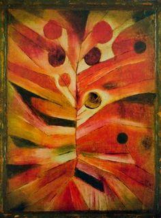 Paul Klee Plante à plume 1919