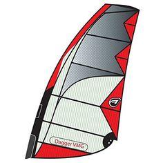 Aerotech Sails 2017 Dagger 7.5m Red Windsurfing Sail