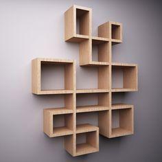 House Shelves, Diy Wood Shelves, Bookshelf Design, Wall Shelves Design, Diy Home Crafts, Diy Home Decor, Diy Corner Shelf, Wardrobe Door Designs, Bedroom Decor For Teen Girls