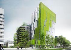 Paris Rive Gauche, In Vivo by XTU Architectes