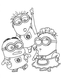 Printable Minion Coloring Pages . 24 Printable Minion Coloring Pages . Minion Coloring Pages Best Coloring Pages for Kids Minion Coloring Pages, Boy Coloring, Cool Coloring Pages, Disney Coloring Pages, Coloring Pages To Print, Printable Coloring Pages, Adult Coloring Pages, Coloring Books, Coloring Worksheets