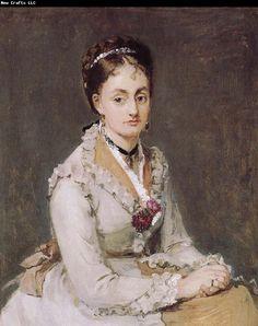 Berthe Morisot | Berthe Morisot The Artist-s sister