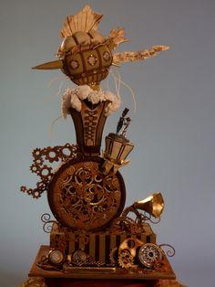 Clockwork Confectionery - 29 Steam Punk Cakes - Girly Design Blog