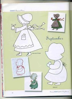 Blog do Patchwork: Sunbonnet