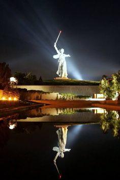 Russian city of Volgograd (former Stalingrad), #Russia.