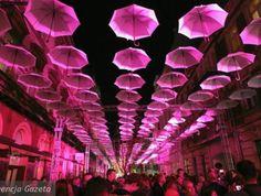 Light Move Festival 2014 in Łódź, Poland City Art, Poland, Neon Signs, Urban Art, Ignition Coil