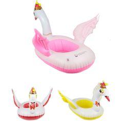 Goedkope 58*43 cm Giant Zwaan Opblaasbare Flamingo Rit Op Zwembad Speelgoed Float opblaasbare zwaan zwembad Zwemmen Ring Vakantie Water Fun Zwembad Speelgoed, koop Kwaliteit   rechtstreeks van Leveranciers van China: