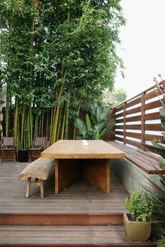 Concrete Retaining Wall Deck Design Ideas, Pictures, Remodel and Decor
