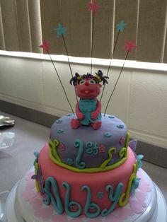 Abby caddaby cake