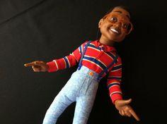 Steve Urkel, Hilarious, Celebrity, Celebs, Dolls, Guys, Celebrities, Baby Dolls, Puppet