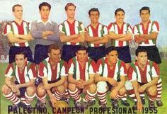 Palestino of Chile team group in 1955 🇨🇱