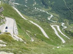 The 15 Most DANGEROUS Roads in the World! Grimsel, Switzerland