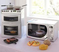 Chrome Mini Kitchen Appliances #pbkids