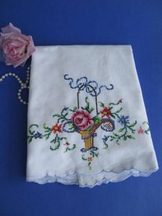 Pillowcase Vintage Bedding Shabby Chic French Country