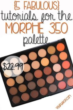 5 Tutorials for the Morphe 35O Palette