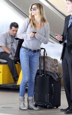 Celebrity Airport Style | Gisele Bundchen