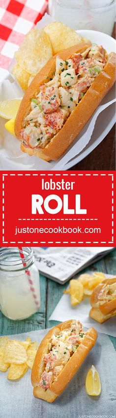 Lobster Roll | Easy Japanese Recipes at JustOneCookbook.com